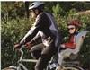 OK Baby 10+ Grey-blue bicikliülés hátra - Brendon - 109