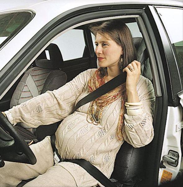 BeSafe Pregnant Belt Black 33 kismama övterelő - Brendon - 235