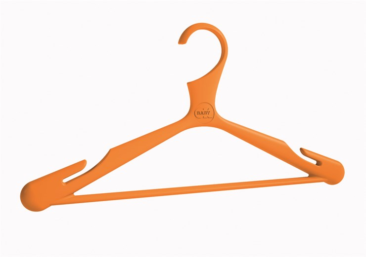 OK Baby Loop 4 pcs hangers   Orange/Pink/Blue/Green vállfa - Brendon - 3838