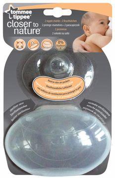 Tommee Tippee Closer to Nature Nipple Shields 2 pcs  chránič prsných bradaviek - Brendon - 4388