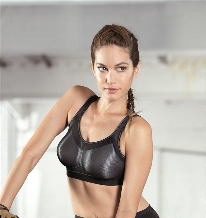 Anita 5529 001 Black športová podprsenka - Brendon - 4972