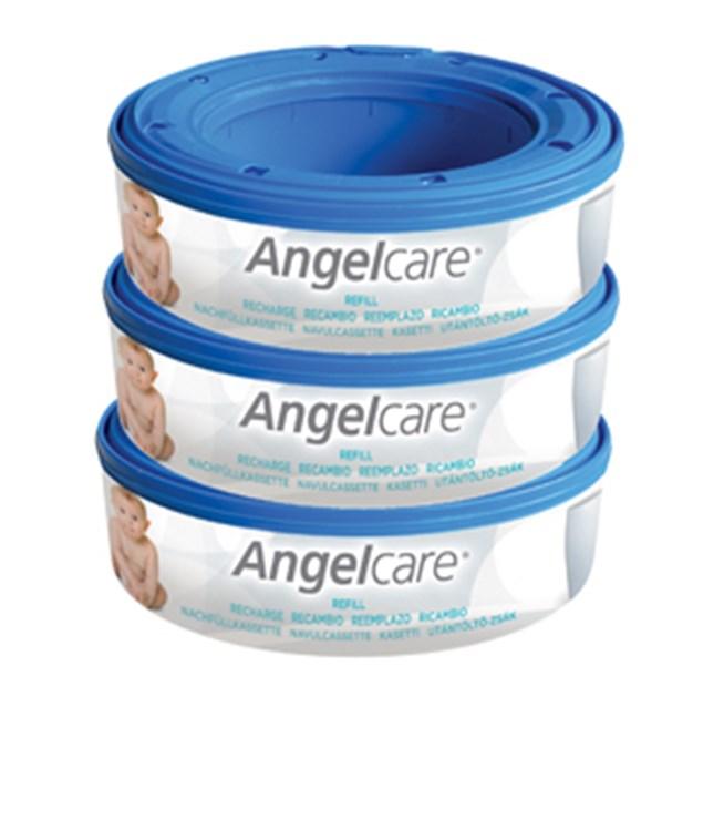 Angelcare Captiva casette 3 pcs Round  pelenkatartó vödör utántöltő - Brendon - 6066