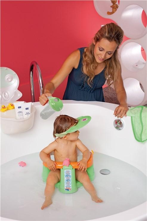 OK Baby Hippo Pink hajmosókarika - Brendon - 6933