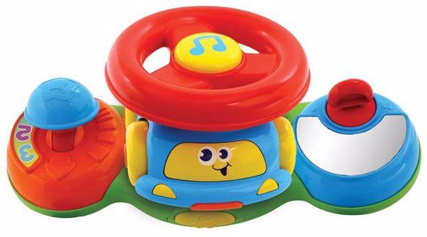 BKids Baby Driver 'N Push Racer  zenélő játék - Brendon - 6936