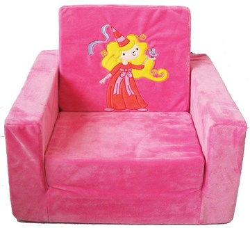 e8835fc518f1 Grand Step Kid s Sofa Sleeper Pink Fairy detské kreslo