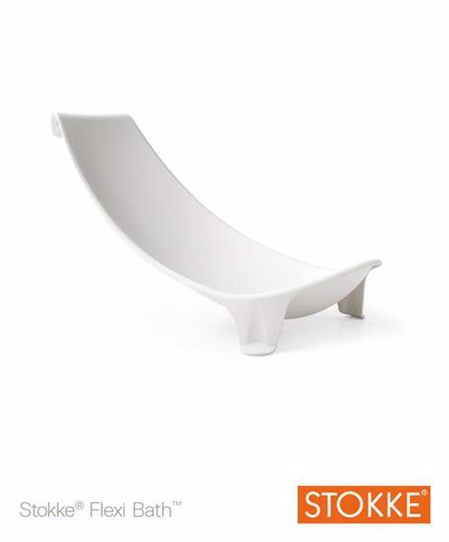 Stokke Flexi Bath Newborn Support White bezpečnostné lehátko do vaničky - Brendon - 7924