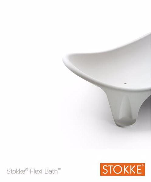 Stokke Flexi Bath Newborn Support White bezpečnostné lehátko do vaničky - Brendon - 7925