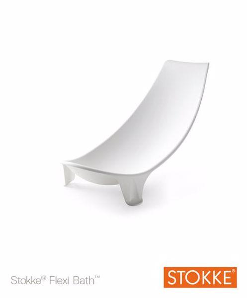 Stokke Flexi Bath Newborn Support White bezpečnostné lehátko do vaničky - Brendon - 7928