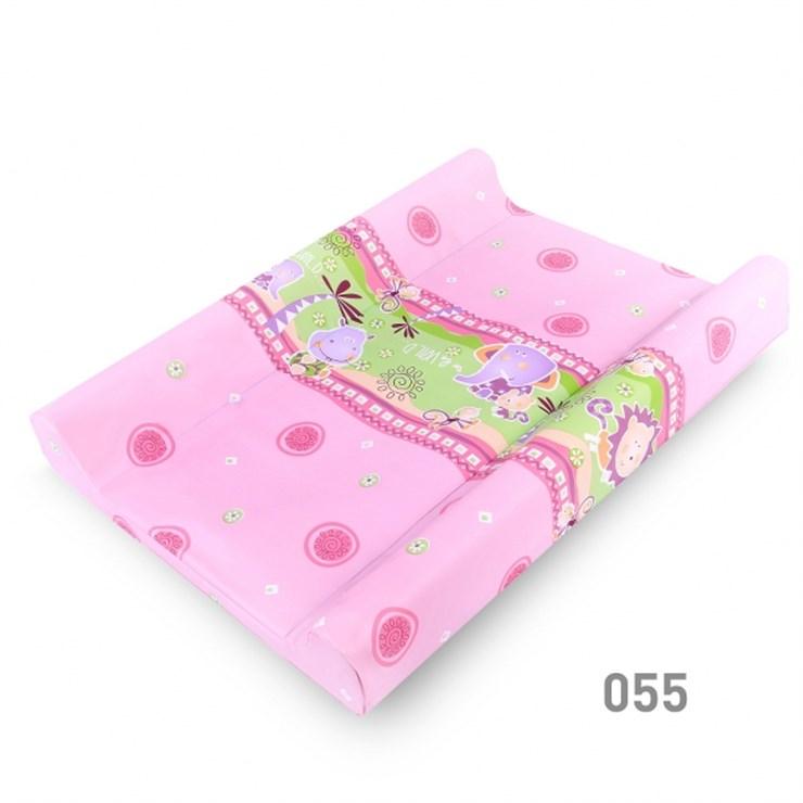 Berber Dino Soft 50x70 Pink-Green puha pelenkázófeltét - Brendon - 9192