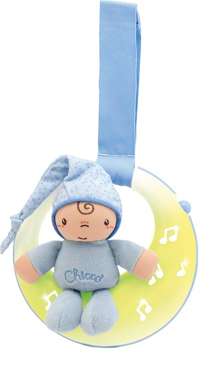 Chicco GoodNight Moon Boy WS altató játék - Brendon - 9217