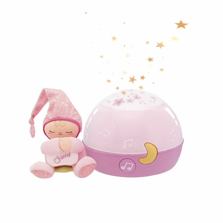 Chicco Goodnight Stars Projector Girl WS altató játék - Brendon - 9221