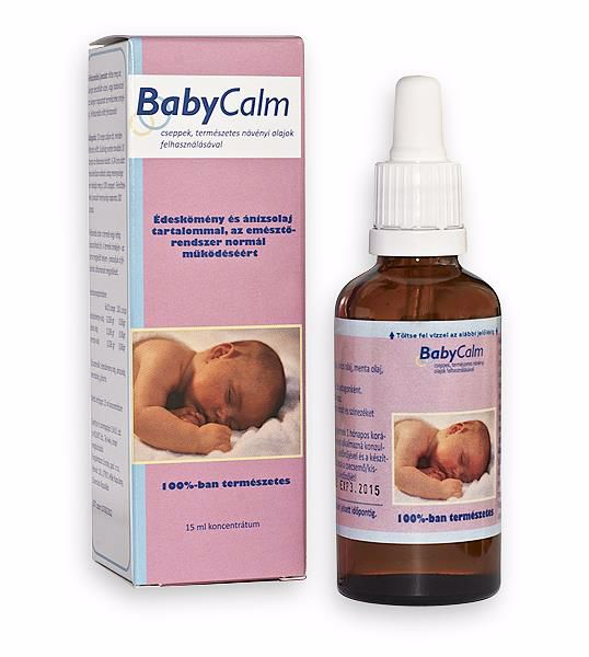 BabyCalm 15 ml  hascsikarás elleni készítmény - Brendon - 9285