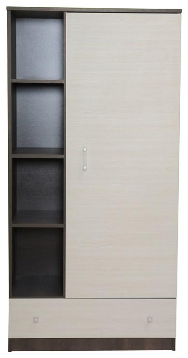 Brendon Niagara rod+shelves  1 osztású szekrény - Brendon - 9346