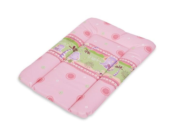 Berber Dino Mat 50x70 Pink-Green puha pelenkázófeltét - Brendon - 9366