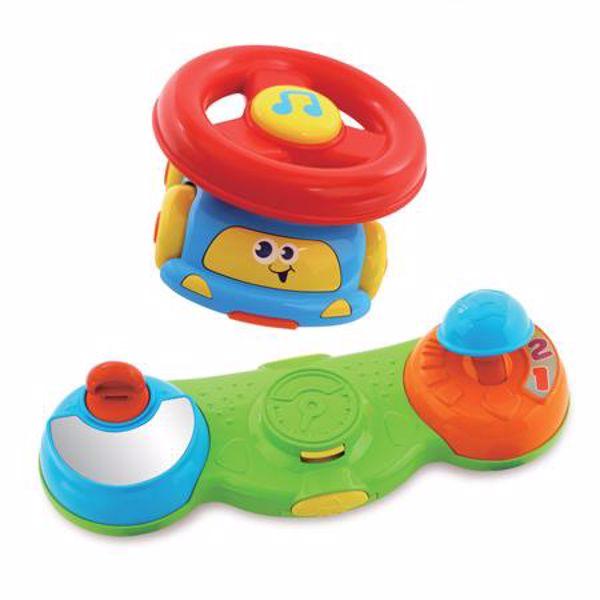 BKids Baby Driver 'N Push Racer  zenélő játék - Brendon - 9400