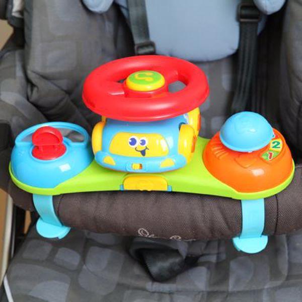 BKids Baby Driver 'N Push Racer  zenélő játék - Brendon - 9402