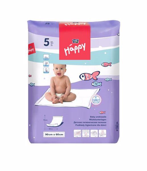 Bella Baby Happy Baby underpads 5 pcs  eldobható pelenkázó alátét - Brendon - 9461