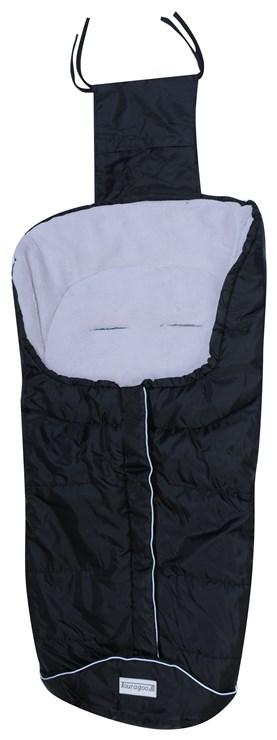 Touragoo Frosty Black-Light Grey bundazsák babakocsihoz - Brendon - 9502