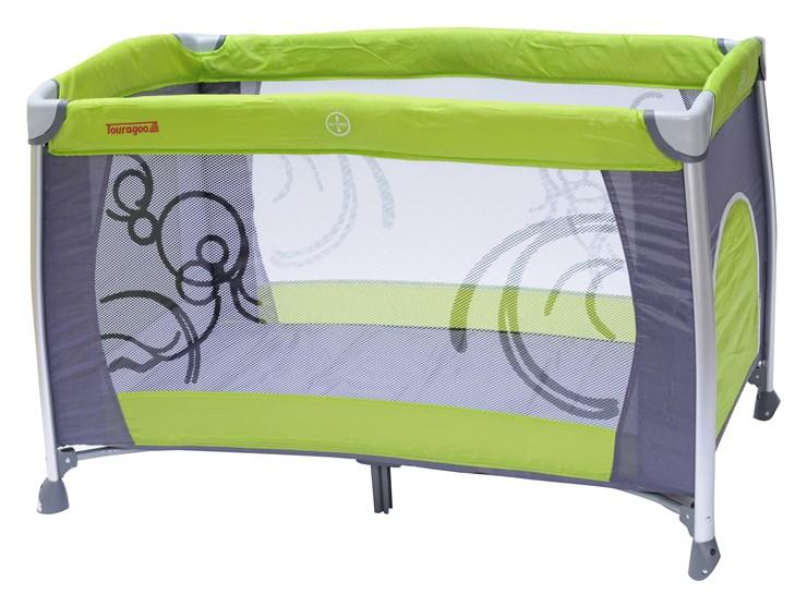 Touragoo Florina 120x68 Green/Grey utazóágy - Brendon - 9620