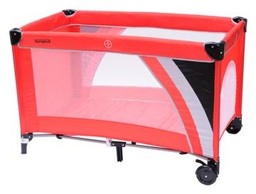 Touragoo Volos Wheels and Zipper 112x60 Red utazóágy - Brendon - 9636