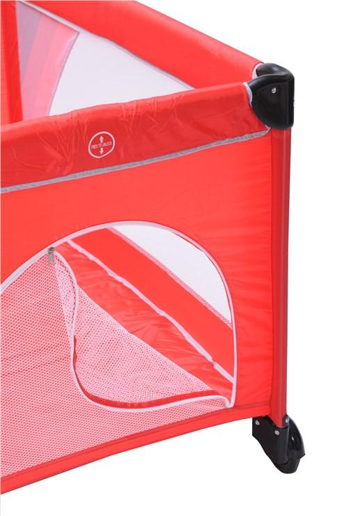 Touragoo Volos Wheels and Zipper 112x60 Red utazóágy - Brendon - 9637