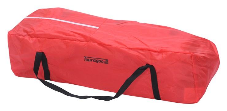 Touragoo Volos Wheels and Zipper 112x60 Red utazóágy - Brendon - 9638
