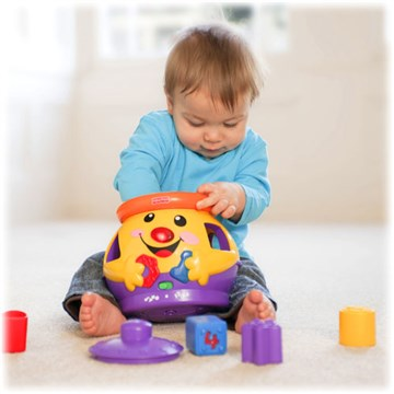 Fisher Price Laugh & Learn Cookie New HU  forma- és színegyeztető - Brendon - 9656