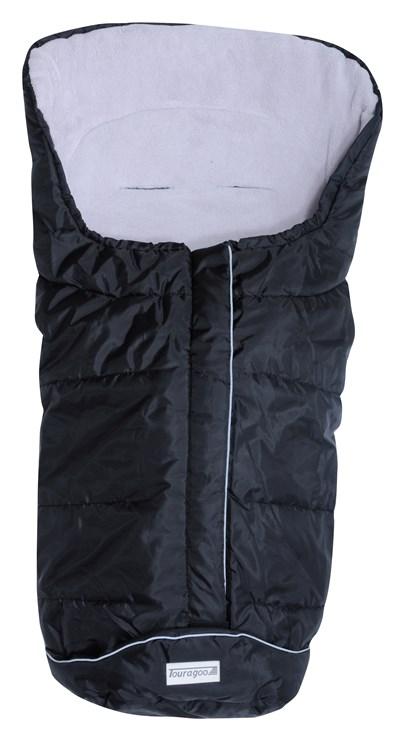 Touragoo Frosty Black-Light Grey bundazsák babakocsihoz - Brendon - 9681