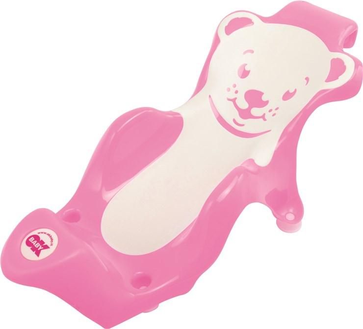 OK Baby Buddy Pink rose biztonsági fürdető - Brendon - 9767