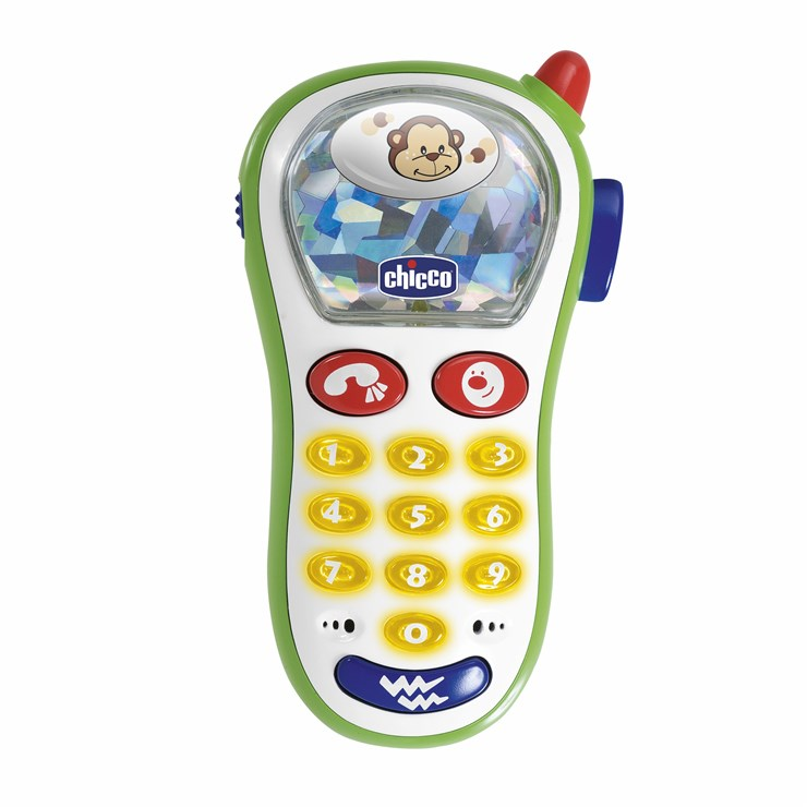 Chicco Vibrating Photo Phone WS telefón - Brendon - 10213