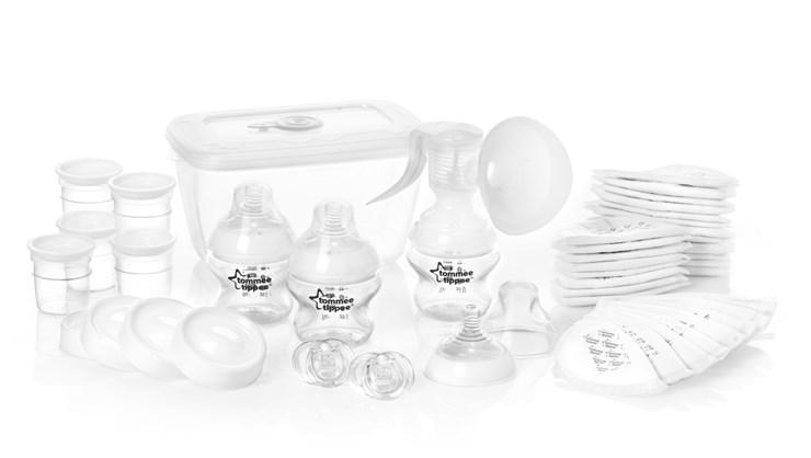 Tommee Tippee CTN Starter Kit new  ručná odsávačka mlieka - Brendon - 10561