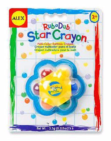 Alex Rub A Dub Star Crayon  hračka do vody - Brendon - 10565