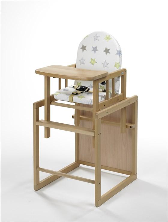 956f5d7b5bf5 Geuther Nico I. Natural-Stars drevená stolička na kŕmenie - Brendon - 10814  ...