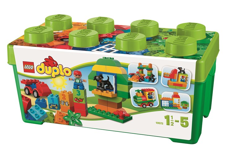 LEGO DUPLO All-in-One-Box-of-Fun 10572 építőjáték ... 9040139586