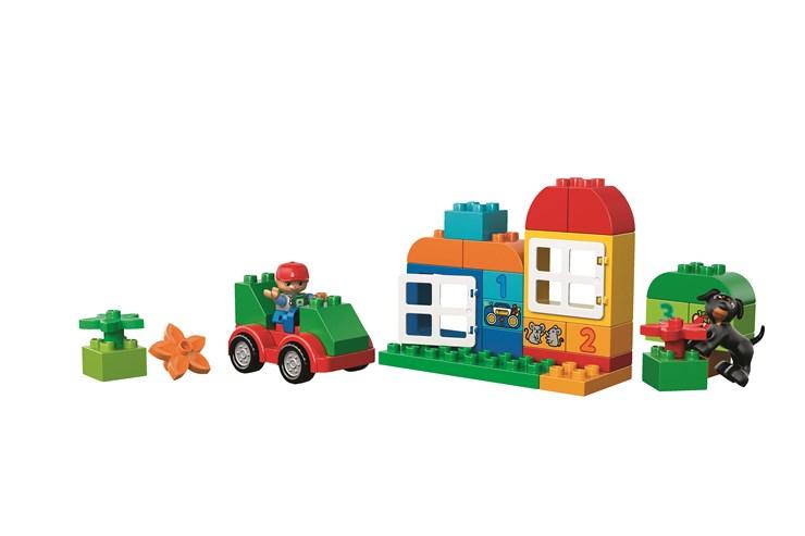 LEGO DUPLO All-in-One-Box-of-Fun 10572  építőjáték - Brendon - 12100