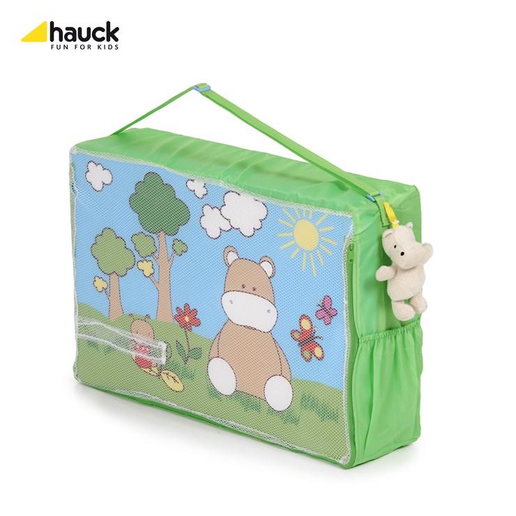 Hauck Sleeper 120 x 60 Hippo Green matrac utazóágyhoz - Brendon - 12799