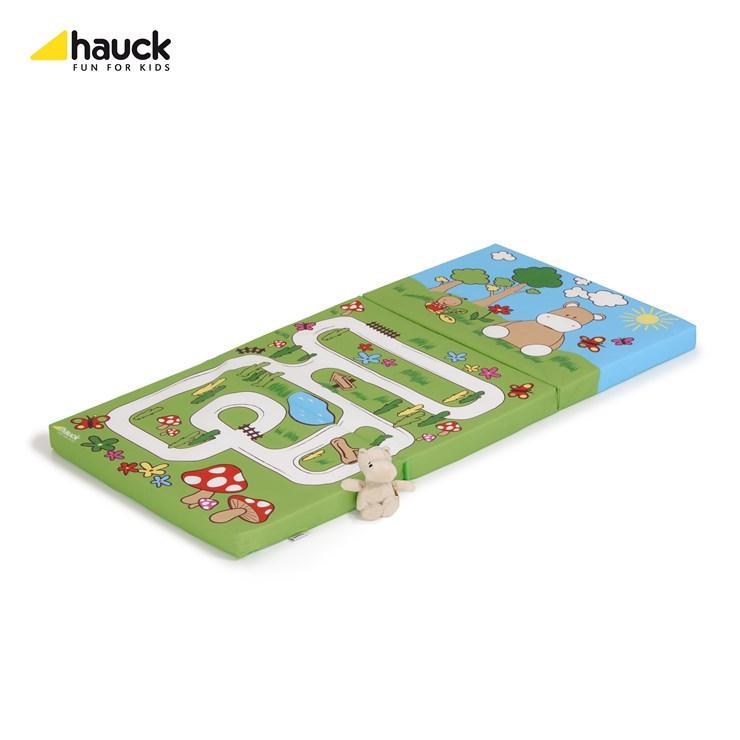 Hauck Sleeper 120 x 60 Hippo Green matrac utazóágyhoz - Brendon - 12800