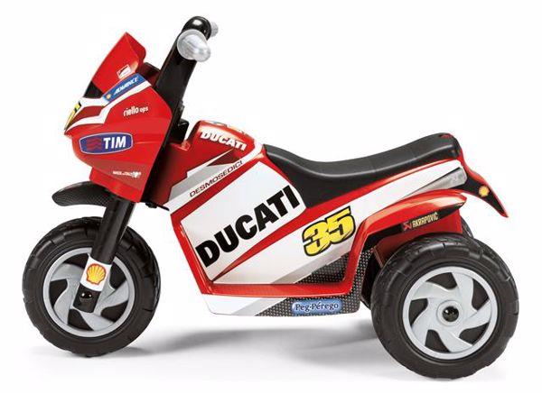 Peg Perego Ducati Mini 6V  elektromos jármű - Brendon - 12921