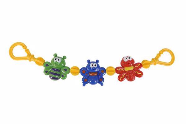 ABC  pram chain Mixed colors retiazka na kočík - Brendon - 13241