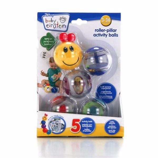 Baby Einstein Roller-pillar Activity Balls  na rozvoj sluchu - Brendon - 13303