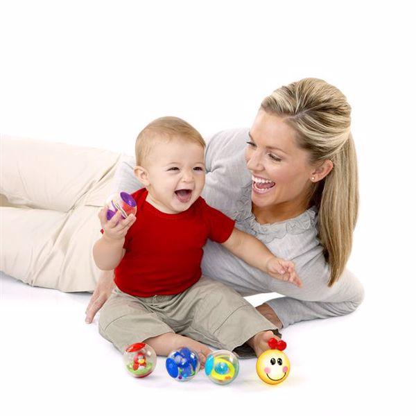 Baby Einstein Roller-pillar Activity Balls  na rozvoj sluchu - Brendon - 13304