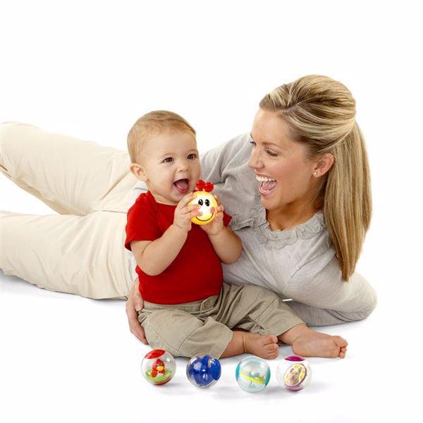 Baby Einstein Roller-pillar Activity Balls  na rozvoj sluchu - Brendon - 13305