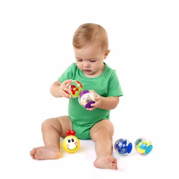 Baby Einstein Roller-pillar Activity Balls  na rozvoj sluchu - Brendon - 13306