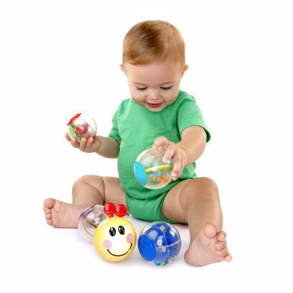 Baby Einstein Roller-pillar Activity Balls  na rozvoj sluchu - Brendon - 13307