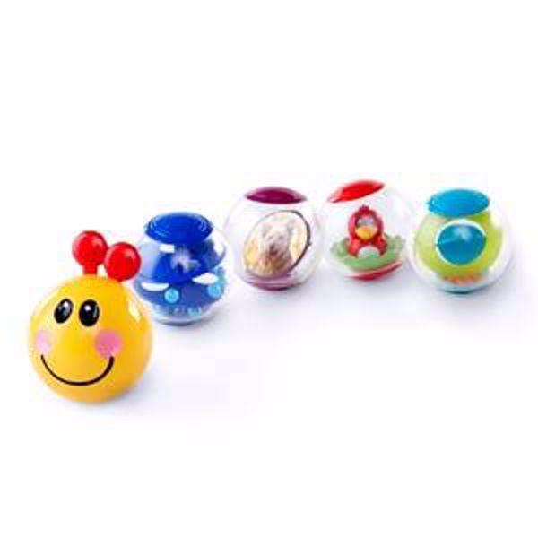 Baby Einstein Roller-pillar Activity Balls  na rozvoj sluchu - Brendon - 13317