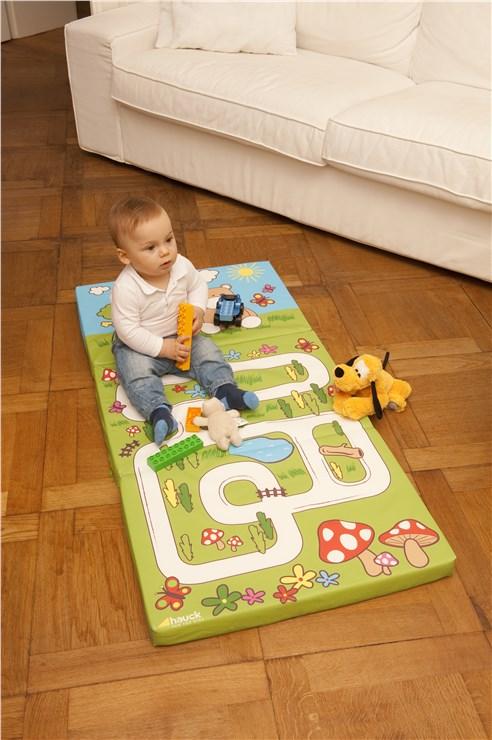 Hauck Sleeper 120 x 60 Hippo Green matrac utazóágyhoz - Brendon - 15736