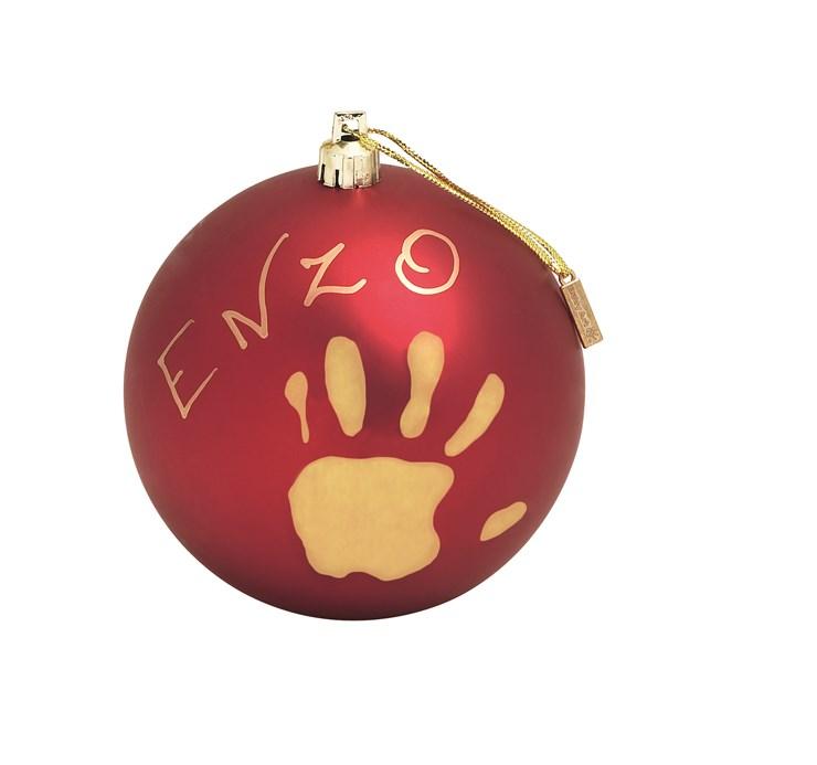 Baby Art Christmas Ball Red Sada na odtlačky - Brendon - 16387
