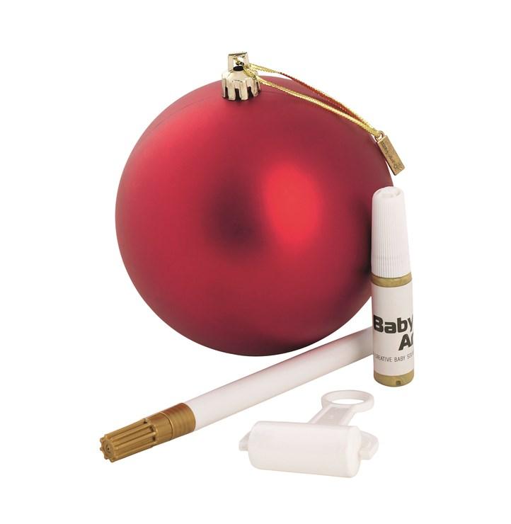 Baby Art Christmas Ball Red Sada na odtlačky - Brendon - 16388