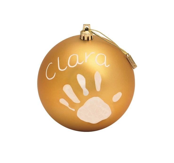 Baby Art Christmas Ball Gold Sada na odtlačky - Brendon - 16391