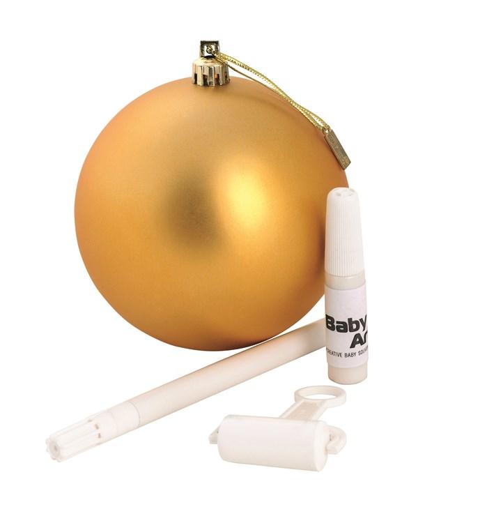 Baby Art Christmas Ball Gold Sada na odtlačky - Brendon - 16392